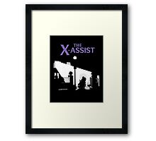 The X-Assist Framed Print