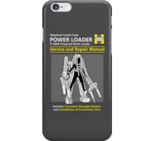 Power Loader Service and Repair Manual iPhone Case/Skin