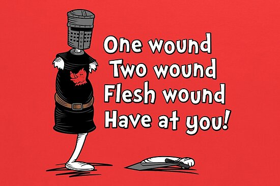 One Wound, Two Wound by Adho1982
