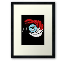 The Man with the Golden Zapper Framed Print