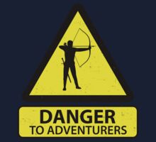 Danger to Adventurers Kids Clothes