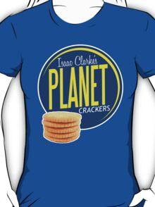 Isaac Clarke's Planet Crackers T-Shirt
