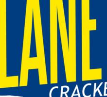 Isaac Clarke's Planet Crackers Sticker
