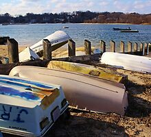 Boat Jumble by Gilda Axelrod