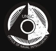 Halo Office of Naval Intelligence U.N.S.C. Logo Kids Clothes