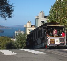 Riding the famous cable cars - San Francisco, California by waynebolton