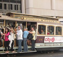 """All Aboard"" Powell/Mason Cable Car - San Francisco by waynebolton"