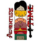 Adventure Time! by Jess Evans-Equeall