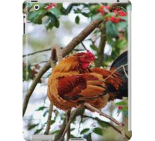 Rooster In A Tree iPad Case/Skin
