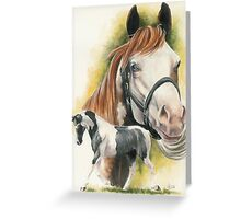 American Paint Greeting Card