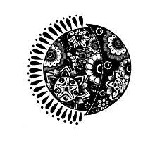 Original Sun and Moon  by XENJA DESIGN