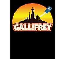 Gallifrey Photographic Print