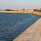 The Wall Against the Ocean - Ile de Ré, France. by Tiffany Lenoir
