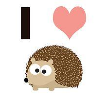 I heart hedgehogs by Eggtooth