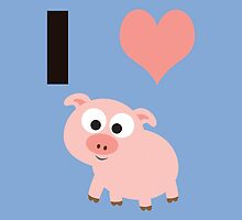 I heart pigs by Eggtooth