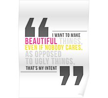 Creative Quote Poster