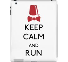 Keep Calm And Run iPad Case/Skin
