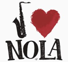 I Heart New Orleans (remix) by Tai's Tees by TAIs TEEs