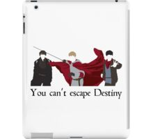 Mordred, Arthur, and Merlin.  iPad Case/Skin