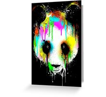 Panda. Greeting Card