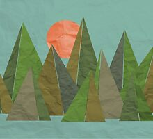 Crumpled Poly Mountains  by rebeccagoddard