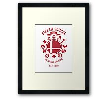 Smash School Veteran Class (Red) Framed Print