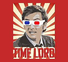 Time Lord With 3D Glasses by Jason Subroto