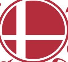 Smash School Veteran Class (Red) Sticker