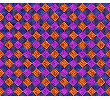 More Like Pixelate Tartan #2 Photographic Print