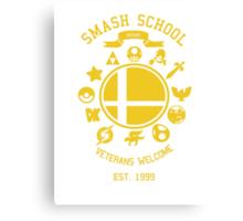 Smash School Veteran Class (Yellow) Canvas Print