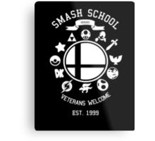 Smash School Veteran Class (White) Metal Print