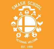 Smash School Veteran Class (White) by Nguyen013