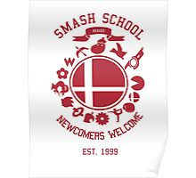 Smash School Newcomer (Red) Poster
