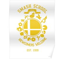 Smash School Newcomer (Yellow) Poster