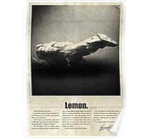 Firefly Lemon Poster