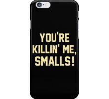 You're Killin' Me, Smalls!  Baseball Nostalgia iPhone Case/Skin