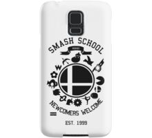 Smash School Newcomer (Black) Samsung Galaxy Case/Skin