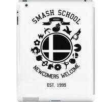 Smash School Newcomer (Black) iPad Case/Skin
