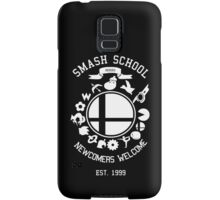 Smash School Newcomer (White) Samsung Galaxy Case/Skin