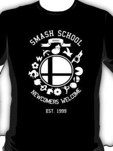 Smash School Newcomer (White) T-Shirt