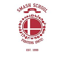 Smash School United (Red) Photographic Print
