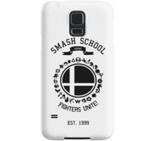 Smash School United (Black) Samsung Galaxy Case/Skin