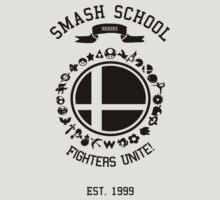 Smash School United (Black) by Nguyen013