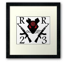 Raging Rat RR23 Framed Print