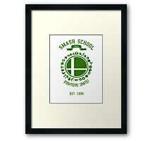 Smash School United (Green) Framed Print