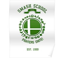 Smash School United (Green) Poster
