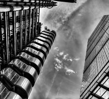 Lloyd's and the Cheese Grater  by DavidHornchurch