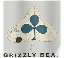 Grizzly Bear - Shields (Dark Text) Poster