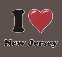 I Love New Jersey Kids Clothes