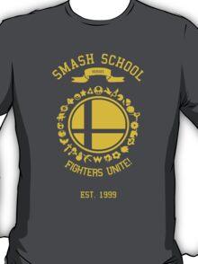 Smash School United (Yellow) T-Shirt